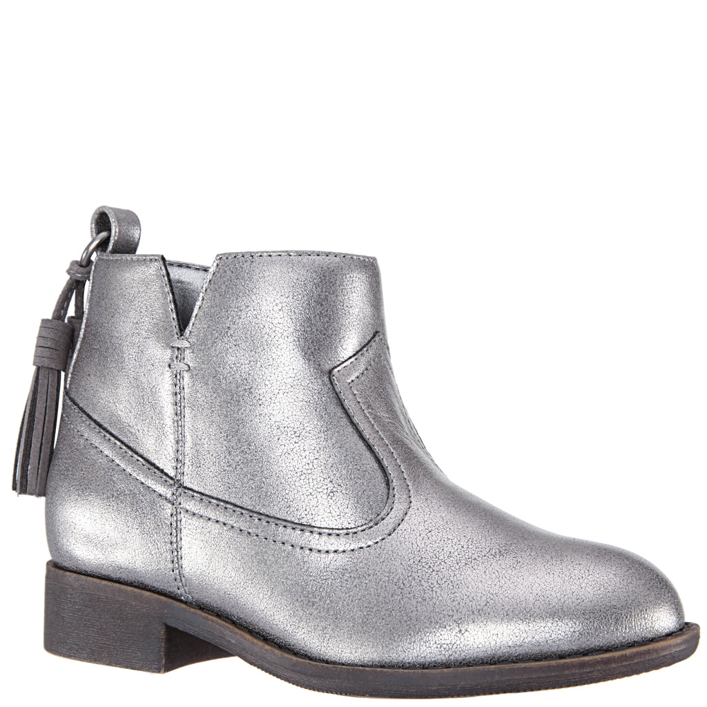 Metallic Tassle Boot