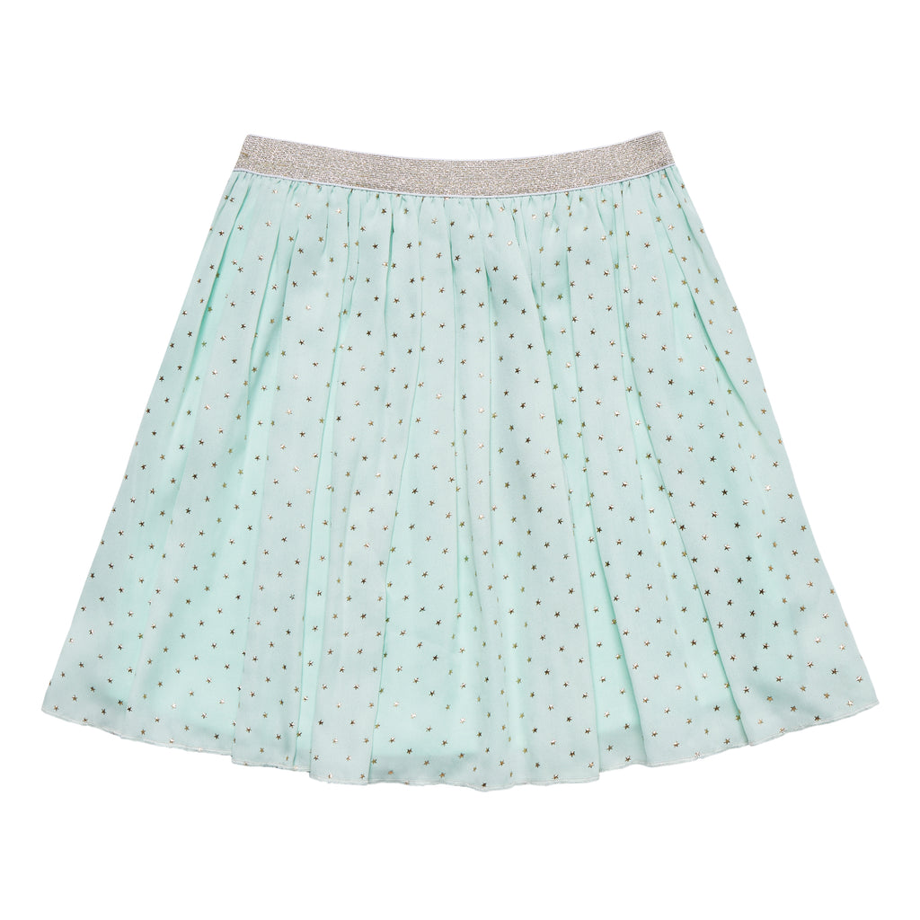 Mini Star Chiffon Skirt