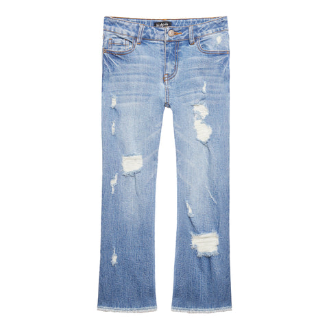 Cropped Jean - Orchard Wash
