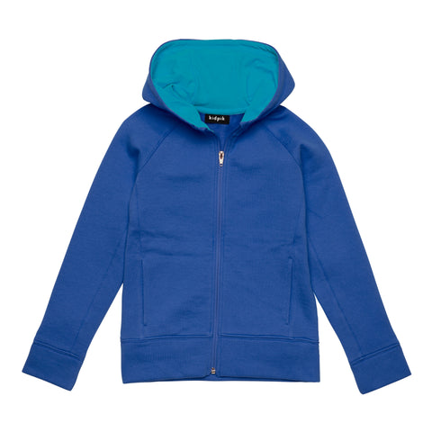 Active Fleece Cardigan - Turkish Sea