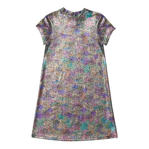 Metallic Camo Dress - Multi