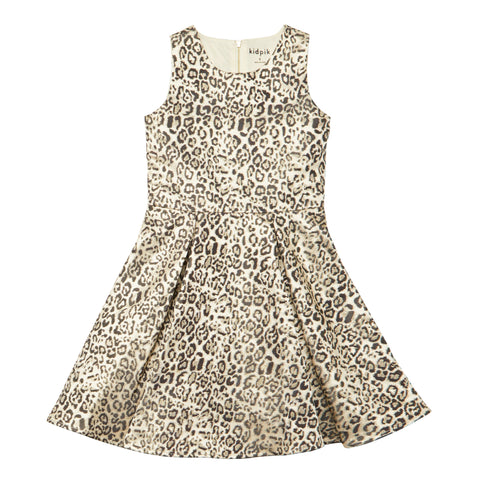 Leopard Pleated Dress - Nomad
