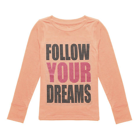 Follow Your Dreams Active Tee - Desert Flower