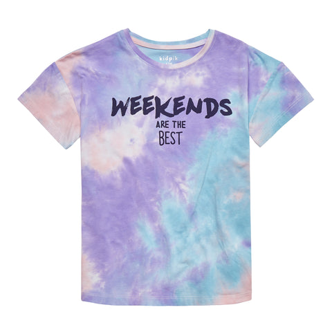 Weekends Tie Dye Tee - Multi