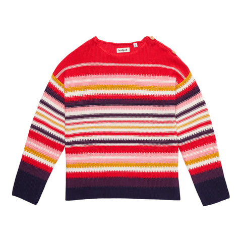 Multi Stripe Sweater - Multi