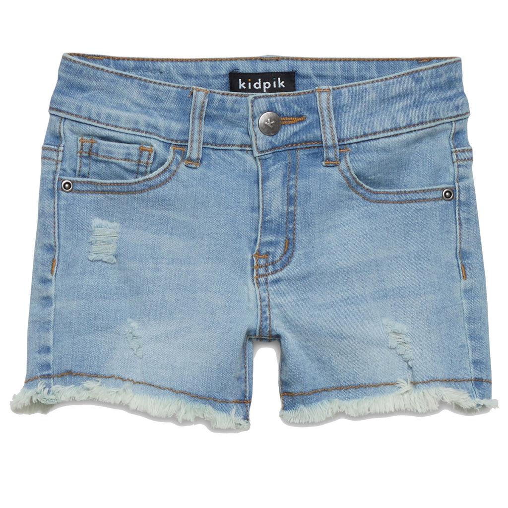 Fun Fringe Denim Shorts