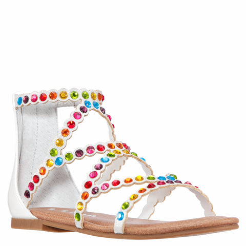 Multi Rhinestone Gladiator - Multi