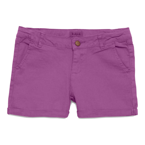 GO-TO Chino Shorts - Striking Purple