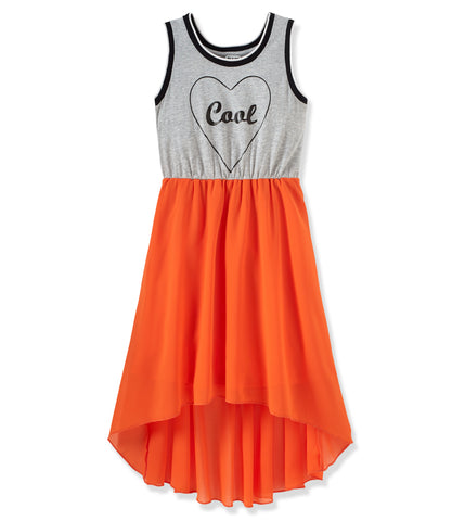 Cool Girl Dress - Bright Coral