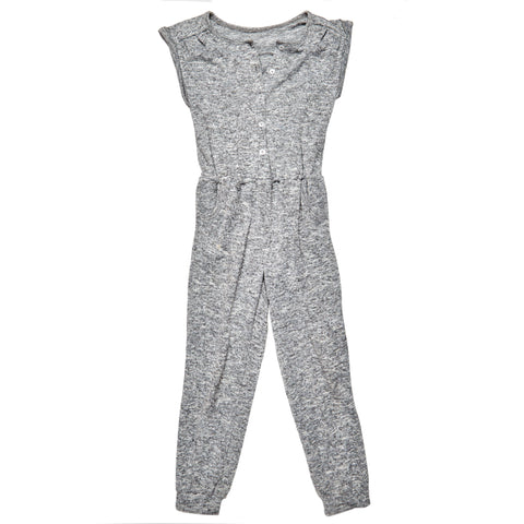 Marled Jumpsuit - Medium Heather Grey