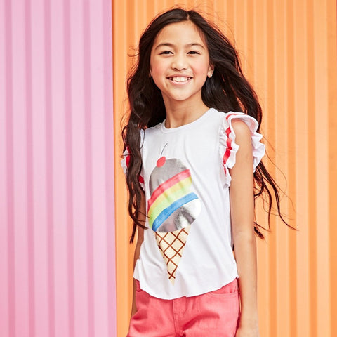 Rainbow Ice Cream Tee