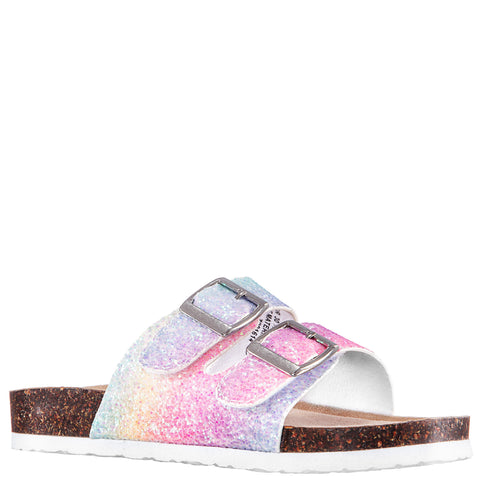 Rainbow Glitter Slide - Multi