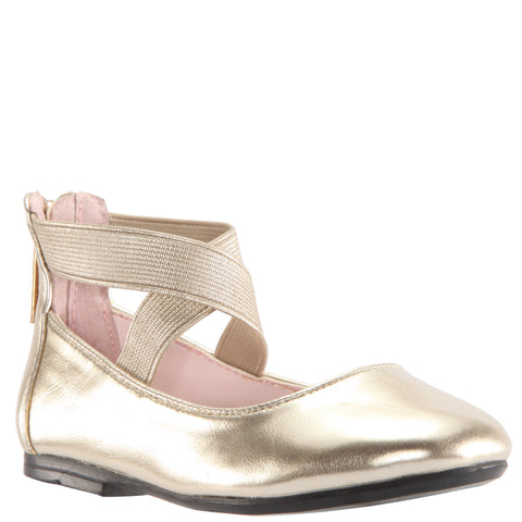 Ankle Strap Ballet - Platino