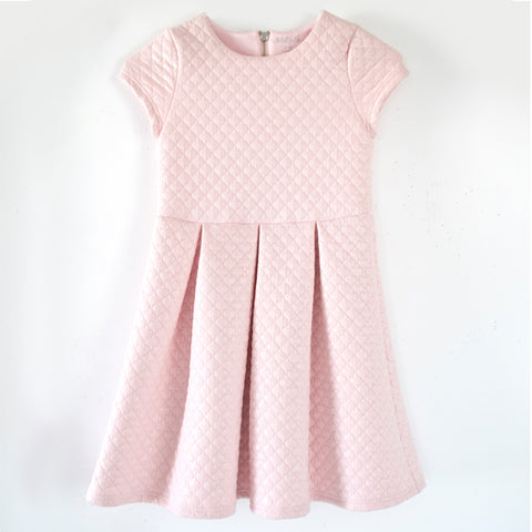 Quilted Dress - English Rose