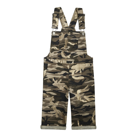 Camo Knit Overall - Nomad