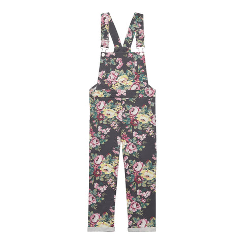 Floral Knit Overall - Multi