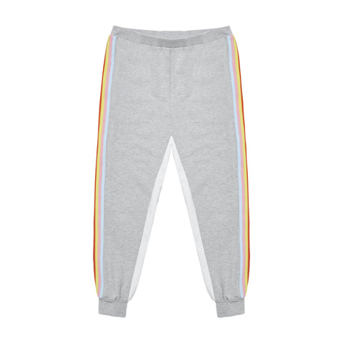 Side Taped Sweat Pant - Medium Heather Grey