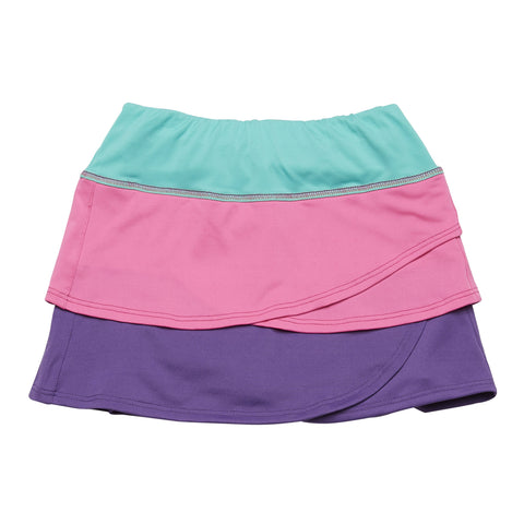 Active Color Block Skort - Multi