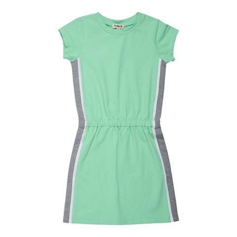 Side Pieced Active Dress - Jadite