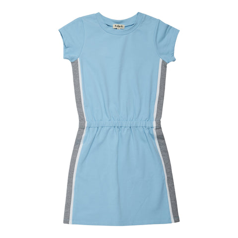 Side Pieced Active Dress - Baltic Sea