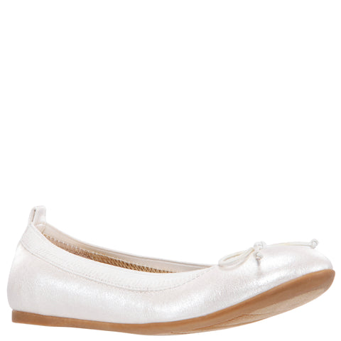 Pearlized Ballet Shoe - Ivory