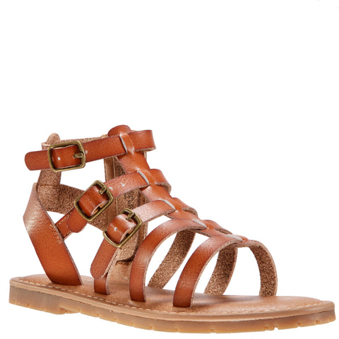 Simple Gladiator Sandal - Tan