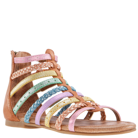 Pastel Metallic Gladiator - Multi