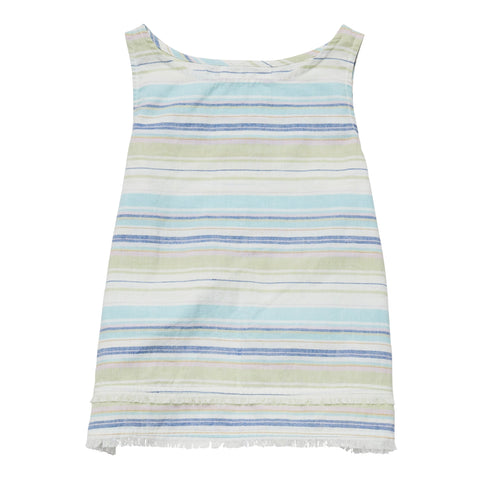 Stripe Split Back Tank - Multi