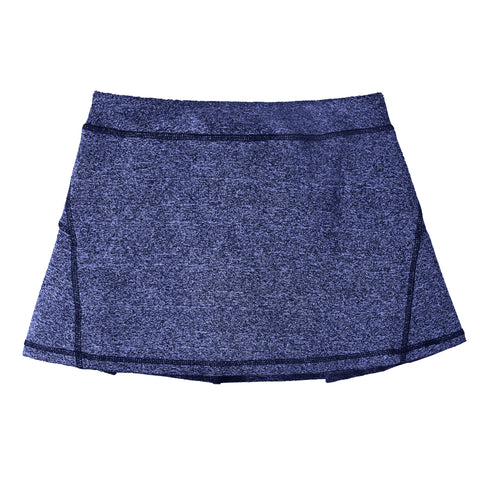 Pleated Active Skort - Deep Royal