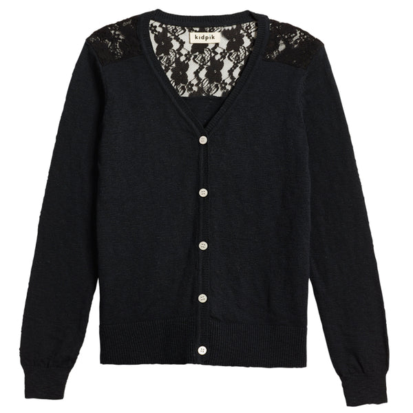 Lace Cardigan Sweater