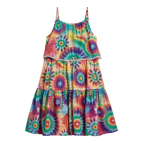 Tie Dye Overlay Dress - Dubarry