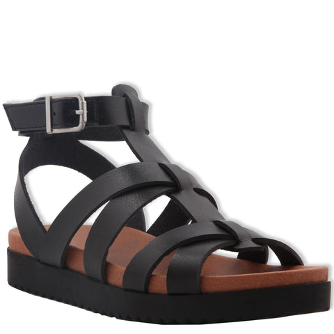 Strappy Sandal - Black