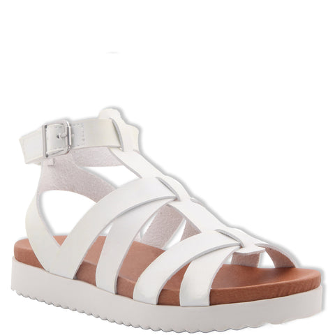Strappy Sandal - White