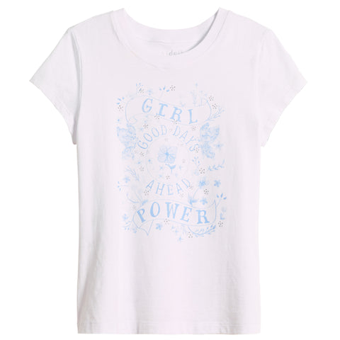 Girl Power Tee - White