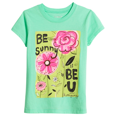 Be U Tee - Lucite Green
