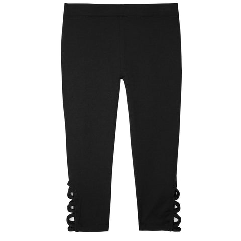 Active Laced Capri - Black
