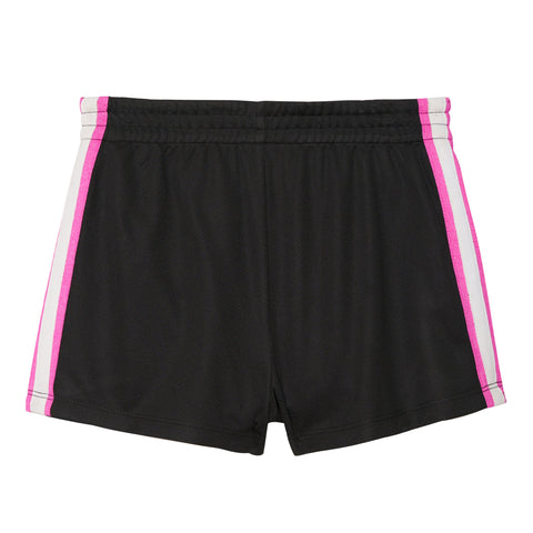 Mesh Side Taped Short - Black