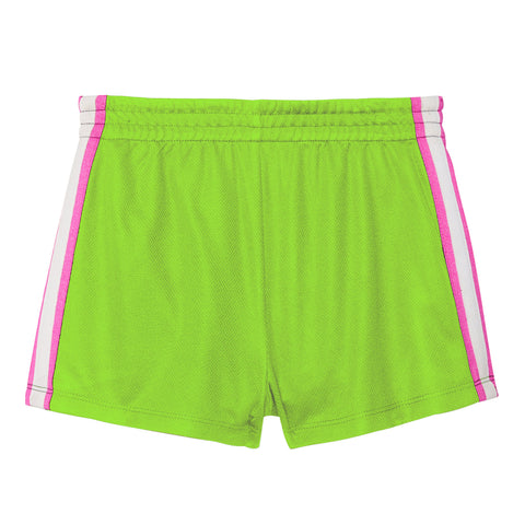 Mesh Side Taped Short - Acid Lime