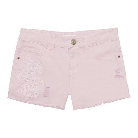 Rose Patch Short - Ballerina