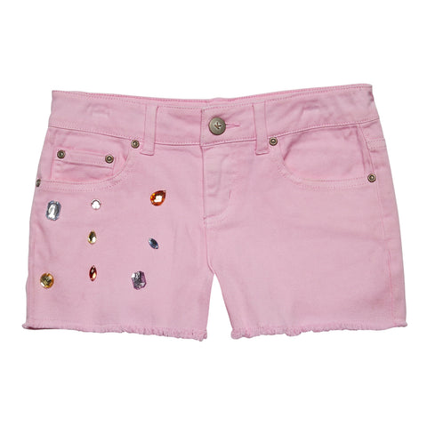 Jeweled Short - Prism Pink