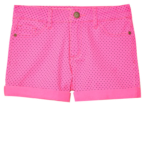 Dot 5pkt Short - Pink Glo