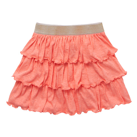 Tiered Skirt - Desert Flower