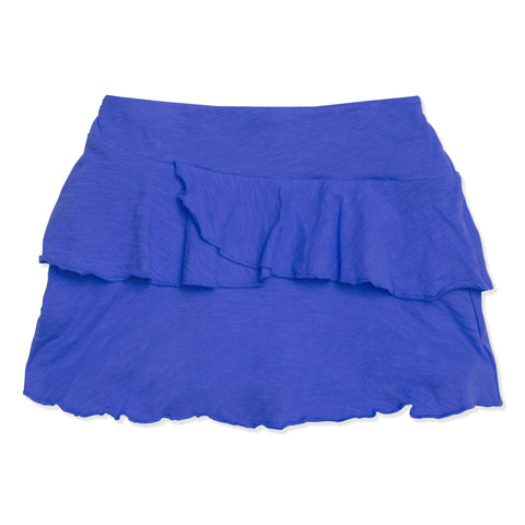 Double Ruffle Skort - Turkish Sea