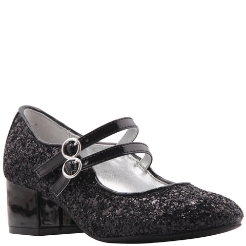 Double Strap Dress Shoe - Black