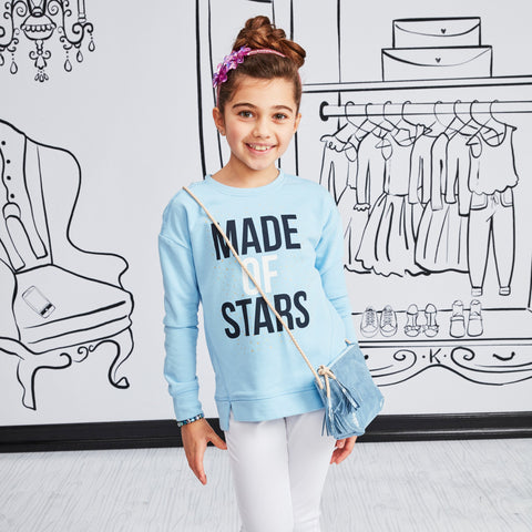 Made Of Stars Fleece Top