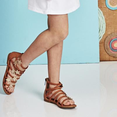 Strappy Star Sandal