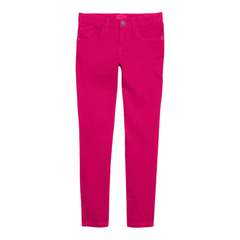 Super Soft Skinny Jeans - Fuchsia Purple