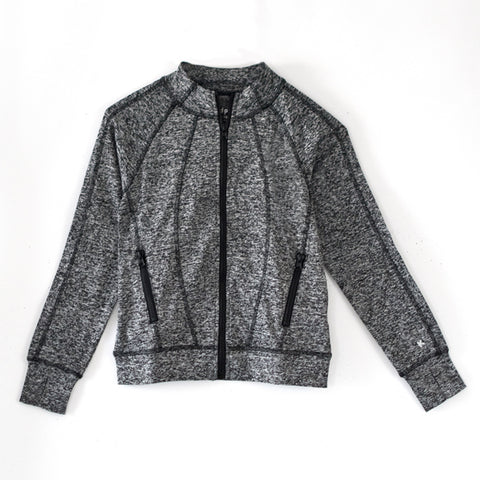Track Jacket - Charcoal Heather