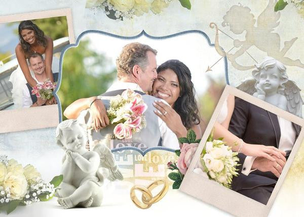 Create Wedding Memories With Wedding Collage Set
