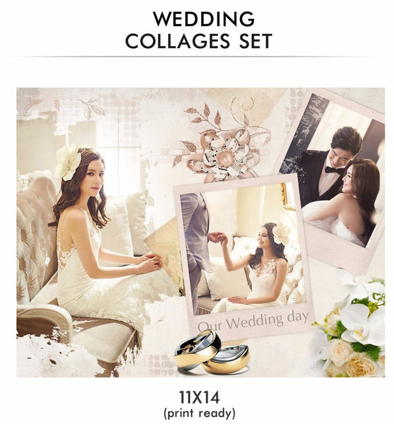Best 5 Offbeat Wedding Collage Templates